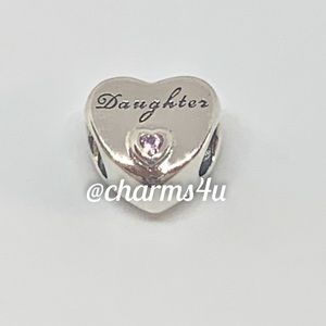 Authentic PANDORA Daughter's Love Charm